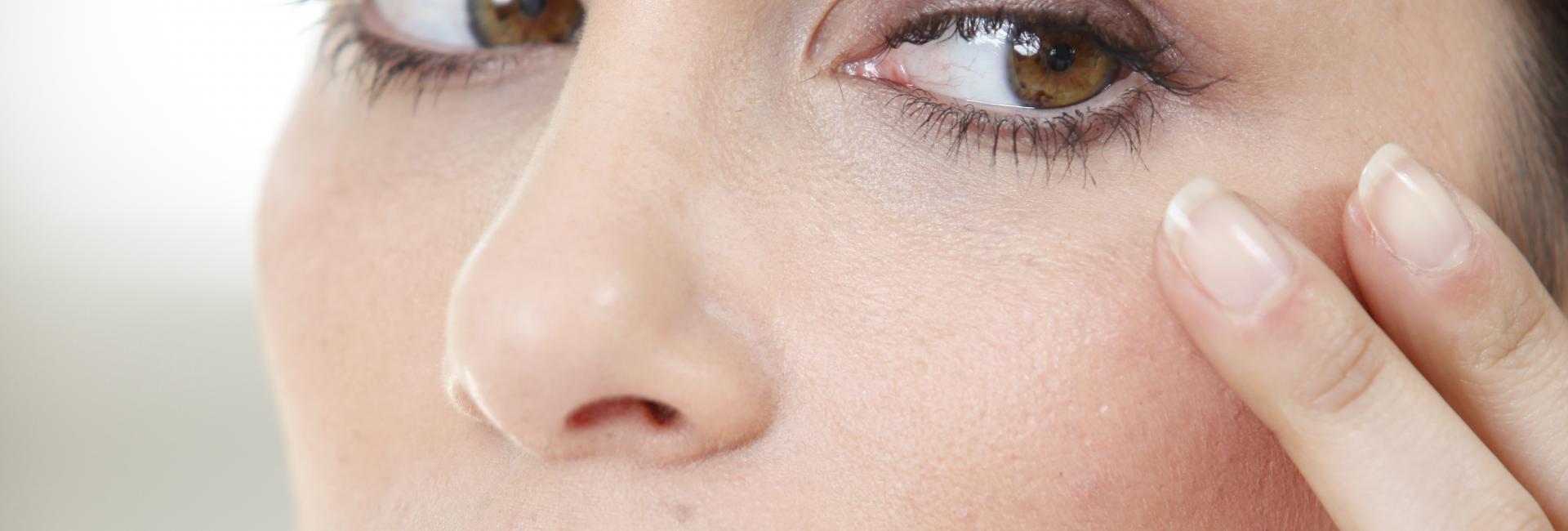 redução das rugas a volta dos olhos